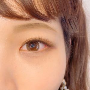 【画像あり】よりナチュラルに、瞳を大きく魅せるブラウンエクステ
