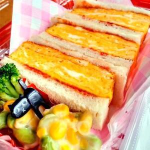 厚焼き玉子サンド!