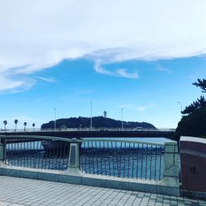 江ノ島の空と雲