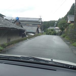 梅雨明け 台風 大内山川  復活