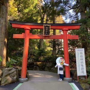 思い立ったが吉日!?「箱根神社」へ初詣に行って来ました♡