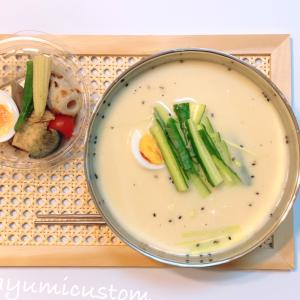 お家で韓国ご飯・暑い日に食べた〜い!「コングクス」を作ってみました