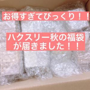 【韓国からのお届け物】待ってました!!ハクスリー秋の福袋♡