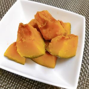 4分でかぼちゃの煮物♪