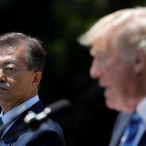 韓国「ちょっと待てよ!日本は断交したいのか!?」日本「そうだぞ」米国「別に問題ないぞ(見捨てる」中国「え?味方?誰が?」トランプ「韓国嫌い。」→