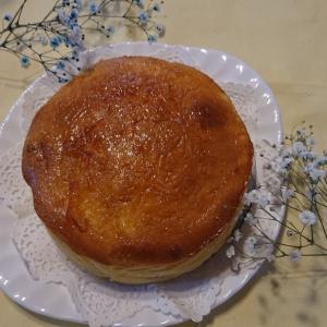 美味しいスフレチーズケーキ