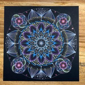 【お誘い】11月28日(木)私の描いた曼荼羅を見てお話しませんかー?