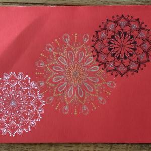大祓の曼荼羅を描きました