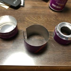 空き缶でアルコールストーブ制作