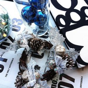 。。☆クリスマスディスプレイ&ダイソー冬のあったかファッション小物とセリアのキッチングッズ。。☆