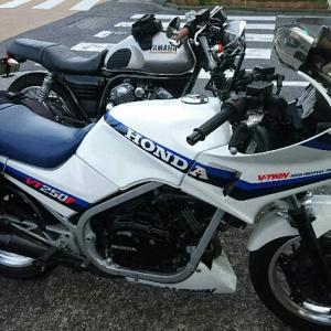 ホンダ VT250F ヤマハ ルネッサ250