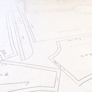 ギャザースリーブとタックスリーブ★パターンはこちら★型紙の仕事