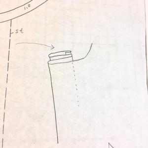 型紙の仕事★比翼の折り方を図解★パターンを公開