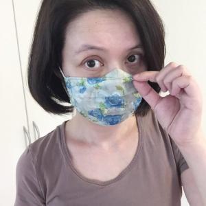 涼しいマスク★メガネが曇らないマスク★試作してみたよ