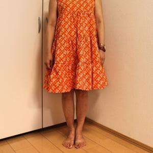 Joy of Sewing さぁ、縫おう★インド綿でティアードスカート完成着てみたよ