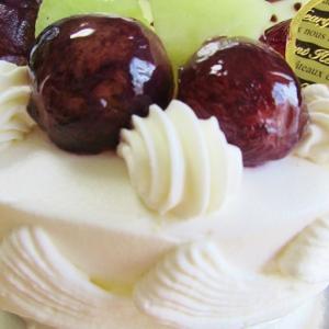 巨峰のケーキ☆