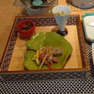 館山のお宿のお料理