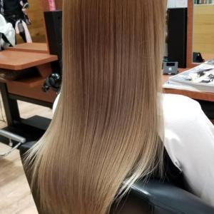 髪が綺麗になったら〇〇も綺麗にしとかなくちゃね♪