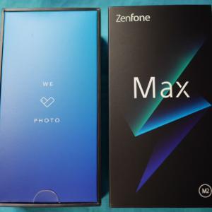 FOMAがつかえるスマホ その2 ASUS Zenfone Max M2