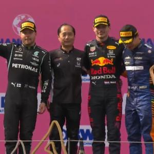 F1オーストリアGP決勝結果