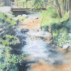 川のある風景〜in遠野