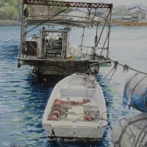 イナダトシナガ水彩画展~山陽百貨店