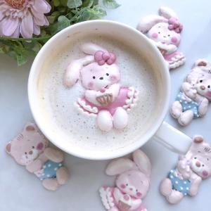 寒くなってくると飲みたくなる♡ココアやコーヒーに添えるデコメレンゲクッキー