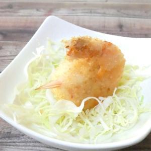 シュリンプ・クロケット弁当と鶏ささみ串