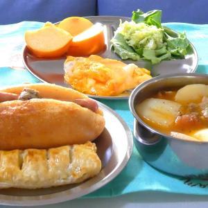 アップルパイの朝ごぱんとお弁当
