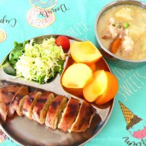 洋風いかめしと納豆蕎麦と寿司