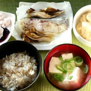 鱈と舞茸の包み焼き & ホタテとカブのホワイトクリーム煮