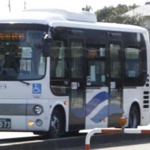 今月から雨宿できる 上郷バス停移動