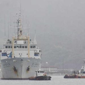 北大練習船「おしょろ丸IV世」  第一開洋丸に改めドック入り