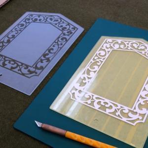 デザインガラスの復元