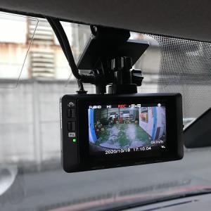 【ドライブレコーダー】トヨタ シエンタに 持ち込み品前後カメラドライブレコーダー取り付けです!