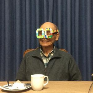 じいじ、82歳お誕生日おめでとう~♪
