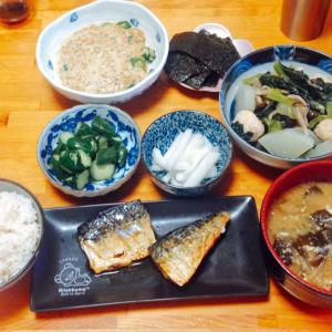 あっさり朝昼ごはん♪( ´▽`)
