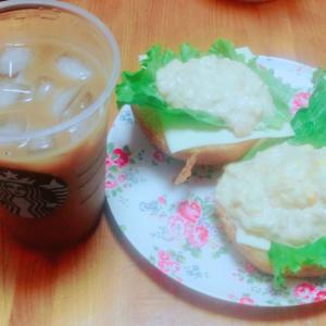 今日の朝ごはん♪( ´▽`)