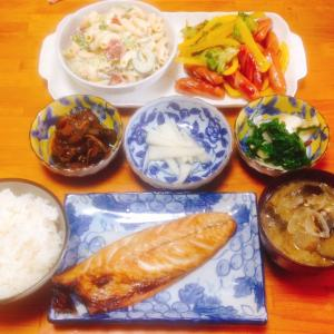 トロさば焼き定食♪( ´▽`)
