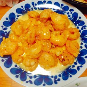 海老マヨ&炒飯&野菜いっぱい棒棒鶏