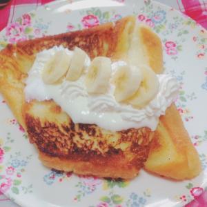 フレンチトースト♪( ´▽`)
