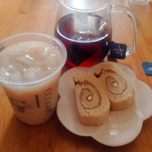 コーヒークリームロール♪( ´▽`)