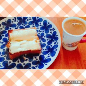 チーズ蜂蜜トースト♪( ´▽`)