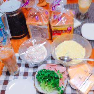 お好きにサンドイッチ(*^▽^*)