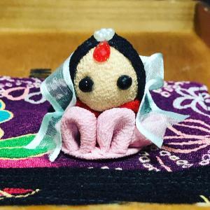 つまみ細工で織姫⭐️