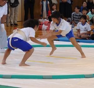 男鹿市相撲大会団体優勝!