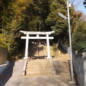 熊野神社と芋窪礫層