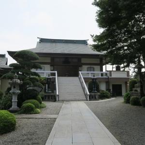 東大和市「歴史ロマンまち歩き」 湖底から移転した寺、蓮華寺・慶性院