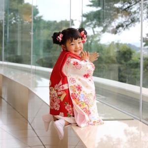 ホテル松島大観荘にて3歳七五三の記念写真&旅行の思い出家族写真を撮影