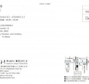 3963 ギャルリー東京ユマニテ(中央区京橋3-5-3):川島 清展